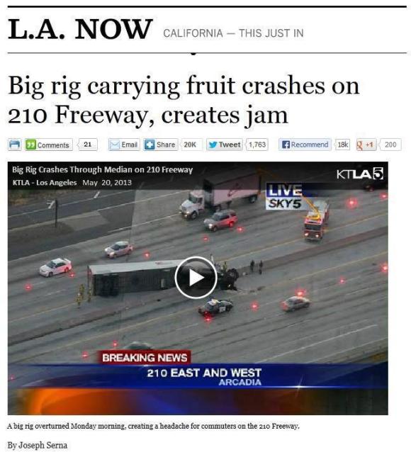 Fruit Traffic Jam